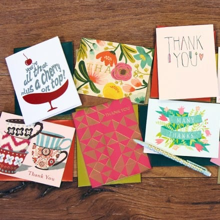 Crafted With Care™ Thank You Card Collection 1685