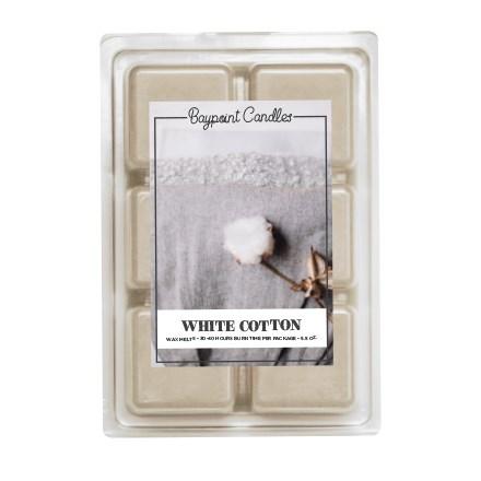 White Cotton Wax Melts 9427