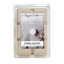 White Cotton Wax Melts 9427