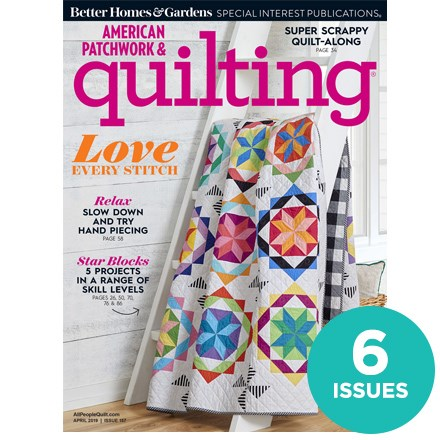 American Patchwork & Quilting NCAK0