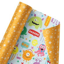 Marvelous Monsters Reversible Wrap 1492