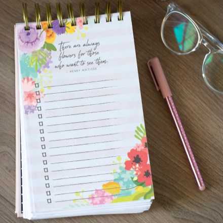 An Inspirational To-Do Pad 2325
