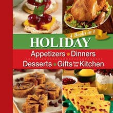 Holiday 4-Books-in-1 Cookbook 7835