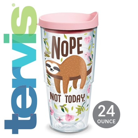 Sloth Nope Not Today Tervis® Tumbler 6112