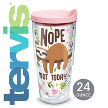 Sloth Nope Not Today Tervis® 24 oz. Tumbler 6112