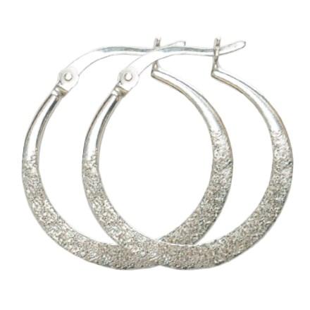 Sparkle Hoop Earrings 2759