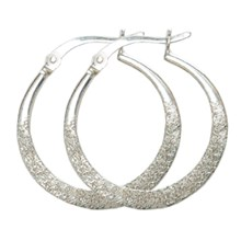 Sparkle Hoop Earrings 2759