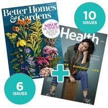 Better Homes & Gardens + Health NCDA5