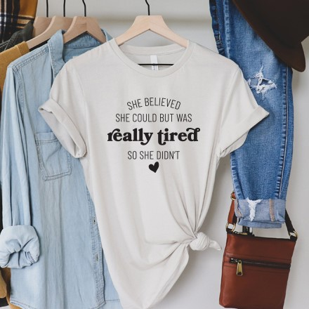 She Believed T-Shirt - Adult Large 2923