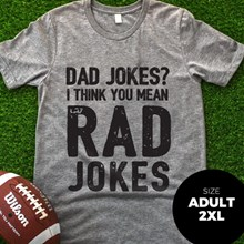 Dad Jokes T-Shirt - Adult 2XL 3067