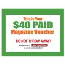$40 Magazine Voucher 8440