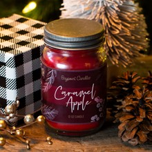 Caramel Apple Jar Candle 5523