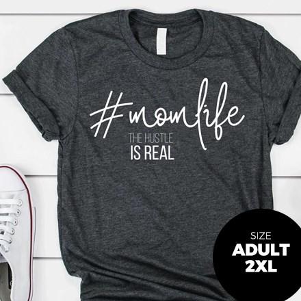 #MomLife T-Shirt - Adult 2XL 2980