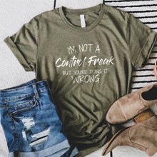 Control Freak T-Shirt - Adult Large 2989