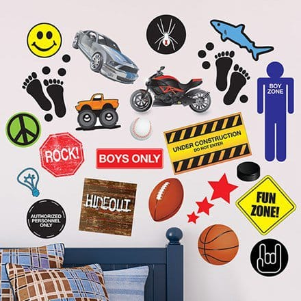 Boys Decal Collection 2571