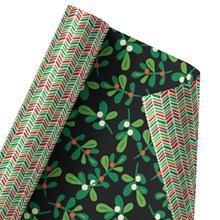 Underneath the Mistletoe Reversible Wrap 1314