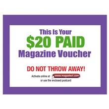 $20 Magazine Voucher 8820