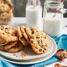 Otis Spunkmeyer® Butter Toffee Crunch Cookie Dough 2022