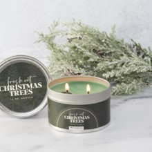 Fresh Cut Christmas Trees Tin Candle 5469