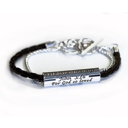 John 3:16 Bracelet 2710