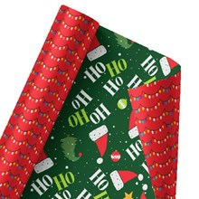 The Night Before Christmas Reversible Wrap 1380