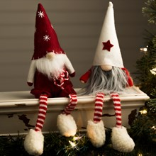 Shelf Sitter Santa Gnomes 3100