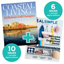 Coastal Living + Real Simple (Best Buy)