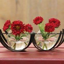 Designer Metal Flower Vase 3632