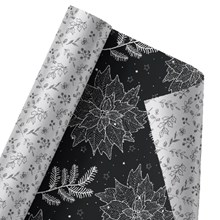 Magical Poinsettia Reversible Wrap 1457
