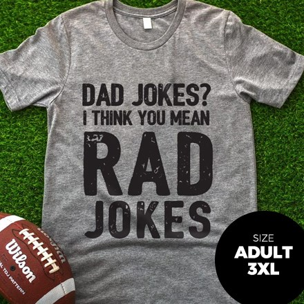 Dad Jokes T-Shirt - Adult 3XL 3078