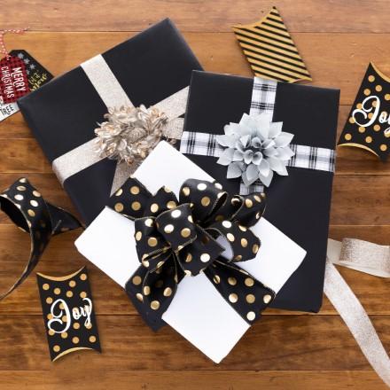 Black & White Reversible Wrap 1667