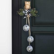 Burlap & Plaid Holiday Door Hanger 3312