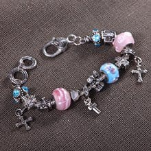 Angels & Crosses Charm Bracelet 2702