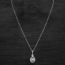 Swarovski Crystal Infinity Silver Necklace 2803