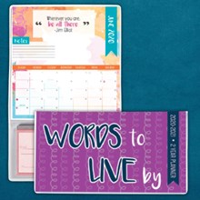 A Way with Words 2-Year Checkbook Planner 9384