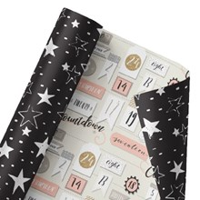 Celebration Countdown Reversible Wrap 1412