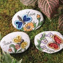 Decorative Plant & Garden Rocks 3676