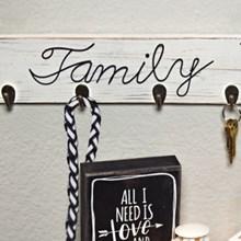 Family Keychain & More Holder 3311