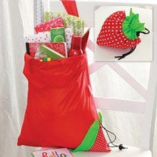 Strawberry Pouch Reusable Bag 3625
