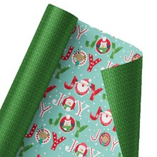 Jolly & Joyful Reversible Wrap 1402