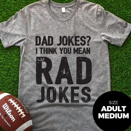Dad Jokes T-Shirt - Adult Medium 3034
