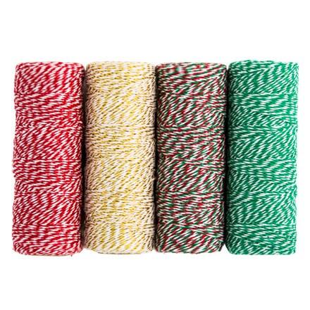 Baker's & Wrap Twine - Set of 4 3347