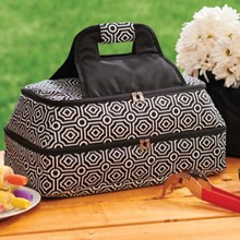 Double Layer Insulated Casserole Tote 4307