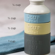 Stackable Ceramic Measuring Cups 7273