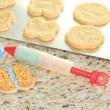Silicone Cake & Cookie Decorating Pen (RED) 7276