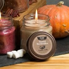 Toasted Marshmallow Mason Jar Candle 9414