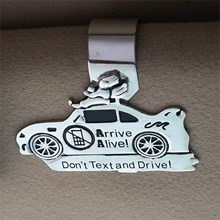 Don't Text & Drive Visor Clip 1277