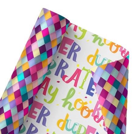 Colorful Celebrations Reversible Wrap 1489