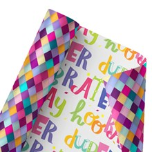 Colorful Celebrations Reversible Wrap 1489