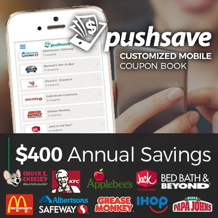 PushSave® Mobile Coupon Book 9